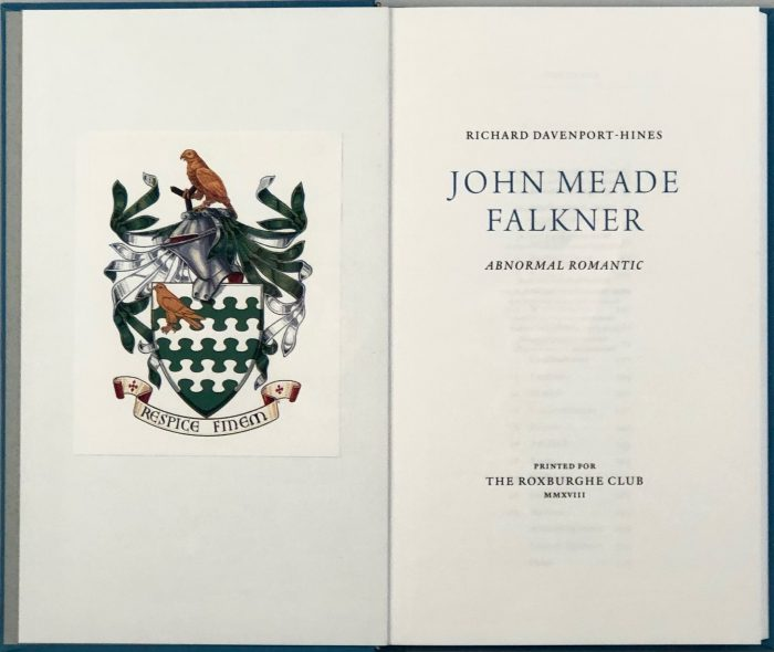 John Meade Falkner: Abnormal Romantic
